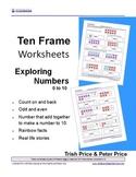 Ten Frames - Exploring Numbers to 10