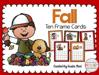 Fall Ten Frame Math Center
