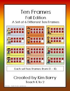 Ten Frames- Fall Edition