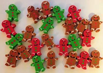 Ten Frames For Oriental Trading Gingerbread Erasers