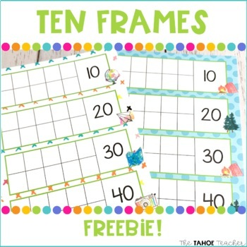 Ten Frames Freebie!