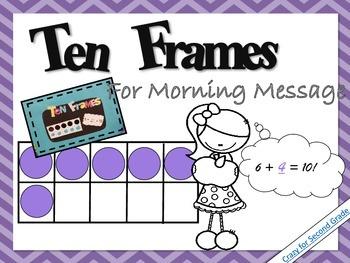 Ten Frames Freebie