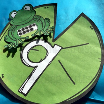 Ten Frames: Frog and Lily pad Ten Frame Matching by Teaching Autism