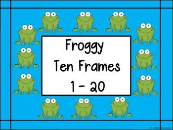 Ten Frames: Froggys