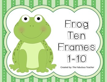 Ten Frames (Frogs)
