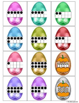 Easter Ten Frames Game