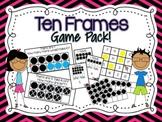 Ten Frames Game Pack {Common Core Aligned!}