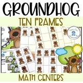 Ten Frames Groundhog Day Theme
