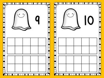 Ten Frames - Halloween