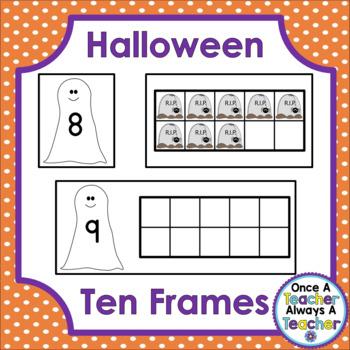 Ten Frames • Halloween