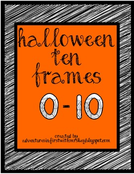 Ten Frames-Halloween Style