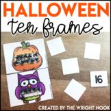 Ten Frames for Halloween