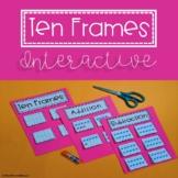 Ten Frames Printable - Interactive with Choice Board