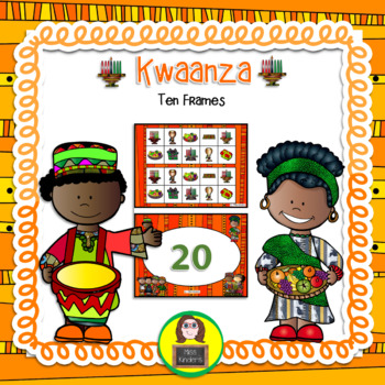 Ten Frames Kwaanza Theme