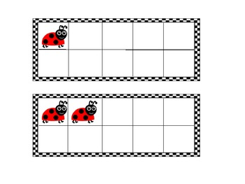 Ten Frames: Ladybugs