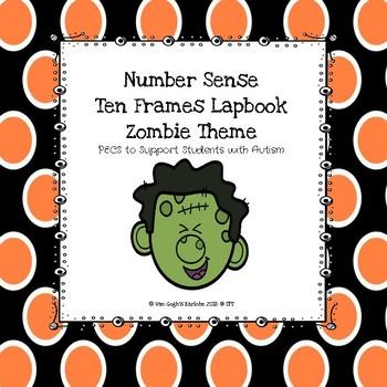 Ten Frames Lapbook (Zombie Theme)