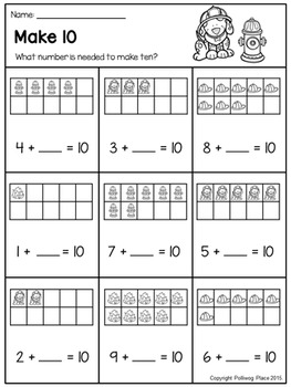 Ten Frames: Making Ten and Twenty {Set 2}