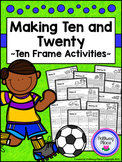 Ten Frames: Making Ten and Twenty {Set 2}