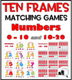 Ten Frames Number Cards 0-20
