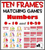 Ten Frame Activities Number Cards 0-20