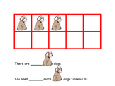 Ten Frames Building Addition Sentences Math Center Activity