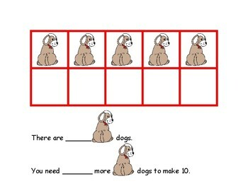 Ten Frames Math Station