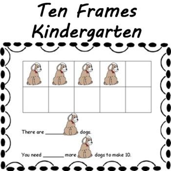 Ten Frames Math Center Mats