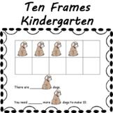 Ten Frames Math Center Mats projector, smartboard, ipad, document camera