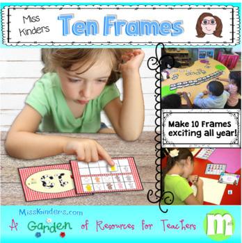 Ten Frames Math Centers Growing Bundle