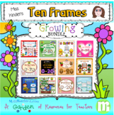 Ten Frames Math Centers Growing Bundle