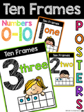 Ten Frames Math Posters