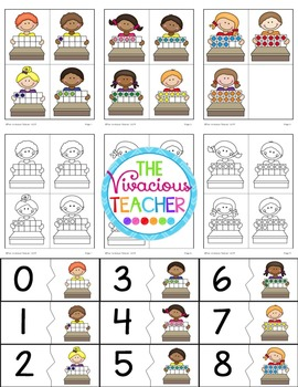 Ten Frames Fun: Posters, Puzzles, Worksheets, and More!