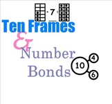 SMARTboard: Ten Frames & Number Bonds (CCLS Aligned, Engag