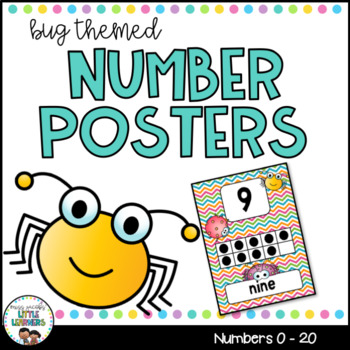 Number Posters {Bugs}