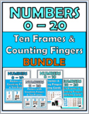 Ten Frames Number Posters & Activities 0-20 with Counting