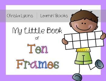Ten Frames & Number Sentences Book