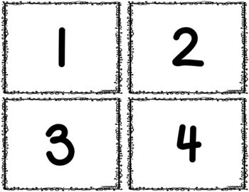 Ten Frames - Numbers 1-20