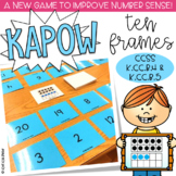 Ten Frames & Numbers 1-20 Kapow - Math Game / Center Common Core