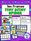 Ten Frames: Nursery Rhymes - Itsy Bitsy Spider