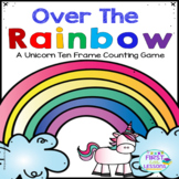 Ten Frames: Over the Rainbow Unicorn Ten Frame Game