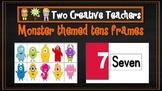 Ten Frames Pack Monster Theme