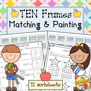 Ten Frames: Painting and Matching