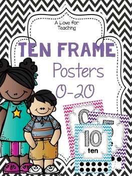Ten Frames Poster FREEBIE!!