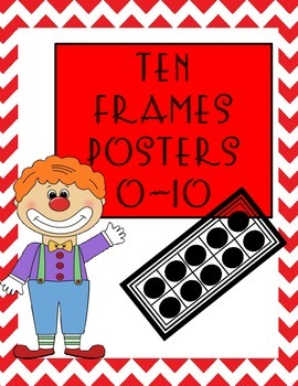 Ten Frames Posters