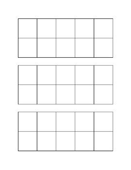 Ten-Frames Printable