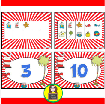 Ten Frames Our Favorite Author Theme