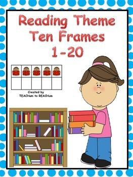 Ten Frames - Reading Theme