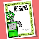 Robot Ten Frames for Counting and Early Math