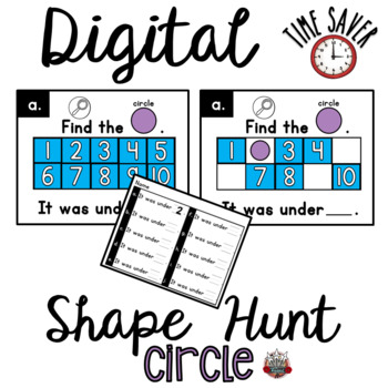 Ten Frames Shape Game:  PowerPoint Circle Game