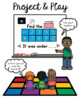 Ten Frames Shape Game:  PowerPoint Square Game